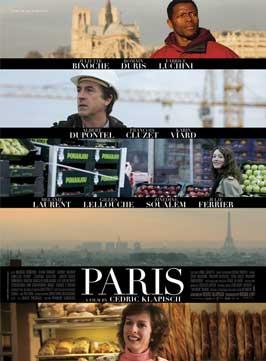 Paris - 11 x 17 Movie Poster - UK Style F