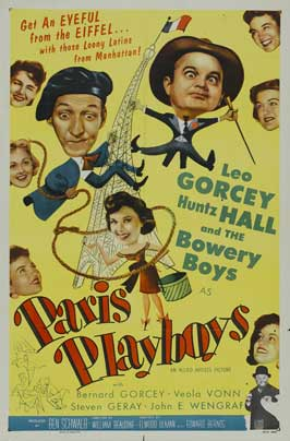 Paris Playboys - 11 x 17 Movie Poster - Style A