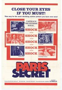 Paris Secret - 11 x 17 Movie Poster - Style A