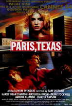 Paris, Texas - 27 x 40 Movie Poster - Belgian Style A