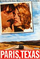 Paris, Texas - 27 x 40 Movie Poster - German Style A