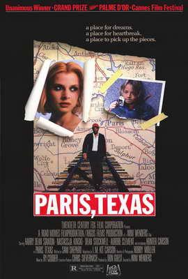 Paris, Texas - 27 x 40 Movie Poster - Style A