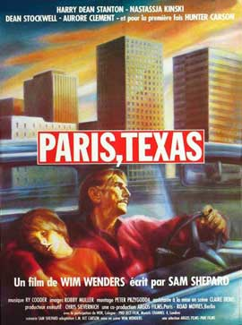 Paris, Texas - 27 x 40 Movie Poster - French Style A