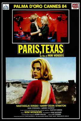 Paris, Texas - 27 x 40 Movie Poster - Italian Style A