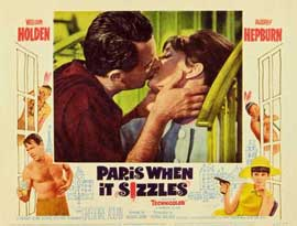 Paris When It Sizzles - 11 x 14 Movie Poster - Style B