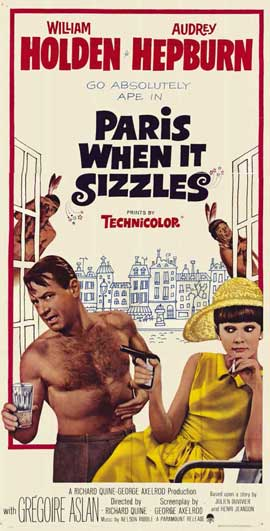 Paris When It Sizzles - 11 x 17 Movie Poster - Style B
