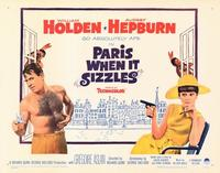 Paris When It Sizzles - 22 x 28 Movie Poster - Half Sheet Style A