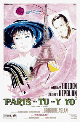 Paris When It Sizzles - 11 x 17 Movie Poster - Spanish Style A