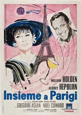 Paris When It Sizzles - 11 x 17 Movie Poster - Italian Style A