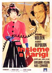 Paris When It Sizzles - 11 x 17 Movie Poster - Italian Style B