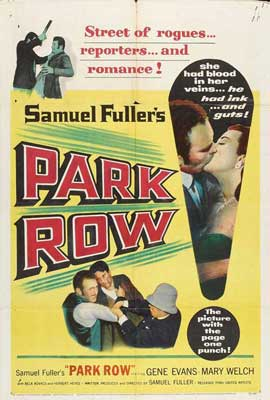 Park Row - 27 x 40 Movie Poster - Style A