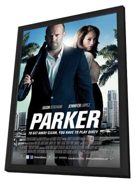Parker - 27 x 40 Movie Poster - Style B - in Deluxe Wood Frame