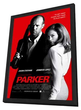 Parker - 27 x 40 Movie Poster - Style C - in Deluxe Wood Frame