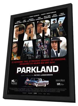 Parkland - 27 x 40 Movie Poster - French Style A - in Deluxe Wood Frame