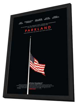 Parkland - 27 x 40 Movie Poster - Style A - in Deluxe Wood Frame