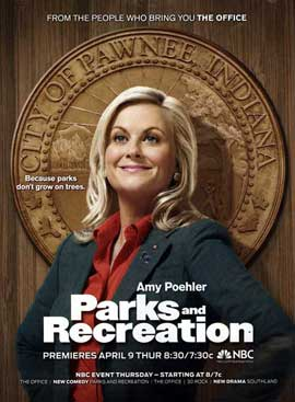 Parks and Recreation (TV) - 11 x 17 TV Poster - Style A