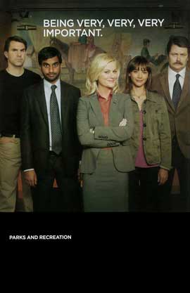 Parks and Recreation (TV) - 11 x 17 TV Poster - Style B