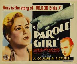 Parole Girl - 11 x 14 Movie Poster - Style A