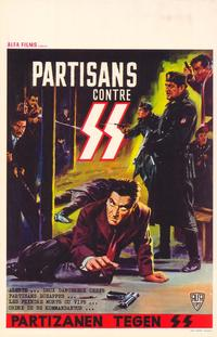 Partisans contre SS - 27 x 40 Movie Poster - Belgian Style A