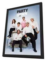 Party Down (TV) - 27 x 40 TV Poster - Style A - in Deluxe Wood Frame