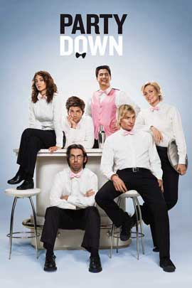 Party Down (TV) - 11 x 17 TV Poster - Style A