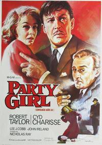 Party Girl - 11 x 17 Movie Poster - Spanish Style C