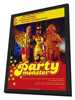 Party Monster - 11 x 17 Movie Poster - Style A - in Deluxe Wood Frame