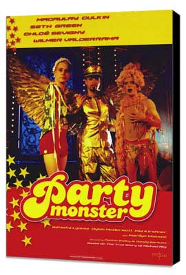 Party Monster - 11 x 17 Movie Poster - Style A - Museum Wrapped Canvas