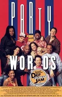 Party With Words (Broadway) - 11 x 17 Poster - Style A
