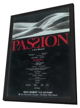 Passion (Broadway) - 11 x 17 Poster - Style A - in Deluxe Wood Frame