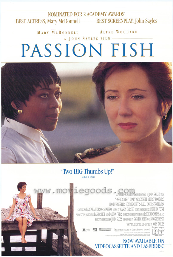 Passion Fish - 27 x 40 Movie Poster - Style A