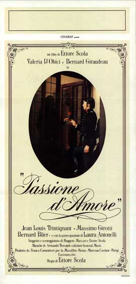 Passione d'amore - 13 x 28 Movie Poster - Italian Style A