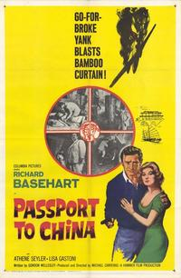Passport to China - 11 x 17 Movie Poster - Style A