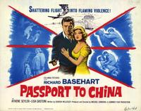 Passport to China - 22 x 28 Movie Poster - Half Sheet Style A