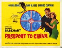 Passport to China - 22 x 28 Movie Poster - Half Sheet Style B