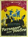 Passport to Pimlico - 11 x 17 Movie Poster - French Style A