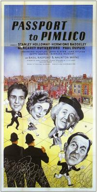Passport to Pimlico - 11 x 17 Movie Poster - Style A