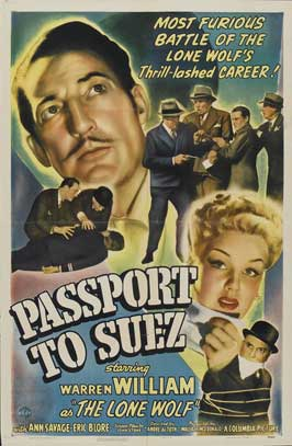 Passport to Suez - 27 x 40 Movie Poster - Style A