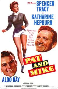Pat and Mike - 43 x 62 Movie Poster - Bus Shelter Style A