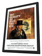 Pat Garrett & Billy the Kid - 27 x 40 Movie Poster - Style C - in Deluxe Wood Frame