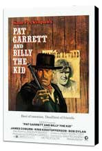 Pat Garrett & Billy the Kid - 27 x 40 Movie Poster - Style C - Museum Wrapped Canvas