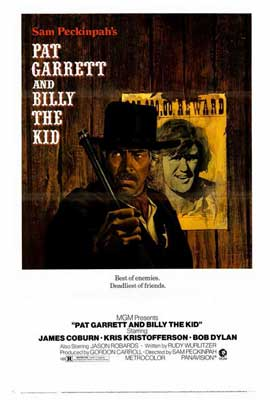 Pat Garrett & Billy the Kid - 27 x 40 Movie Poster - Style A