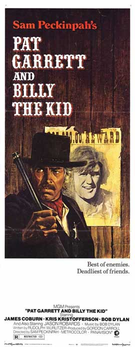 Pat Garrett & Billy the Kid - 14 x 36 Movie Poster - Insert Style A