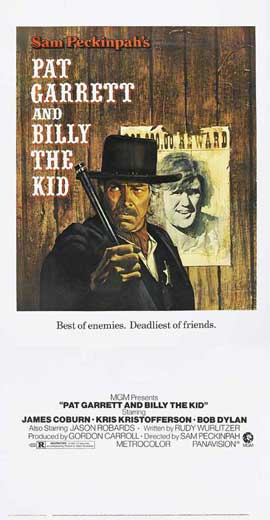 Pat Garrett & Billy the Kid - 11 x 17 Movie Poster - Style B