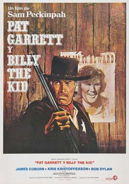 Pat Garrett & Billy the Kid - 11 x 17 Movie Poster - Spanish Style A