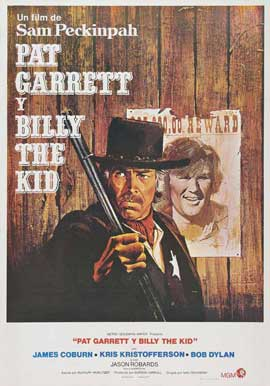 Pat Garrett & Billy the Kid - 27 x 40 Movie Poster - Spanish Style A