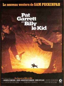 Pat Garrett & Billy the Kid - 11 x 17 Movie Poster - French Style A