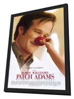 Patch Adams - 27 x 40 Movie Poster - Style A - in Deluxe Wood Frame