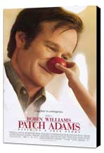 Patch Adams - 27 x 40 Movie Poster - Style A - Museum Wrapped Canvas