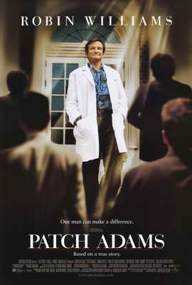 Patch Adams - 27 x 40 Movie Poster - Style B